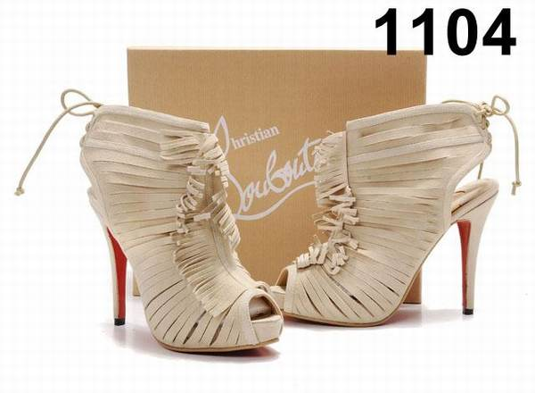 vente chaussures louboutin soldes